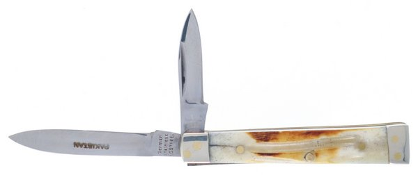 Frost Cutlery Torched Second Cut Genuine Bone Baby Doctor Knife 14-974SC