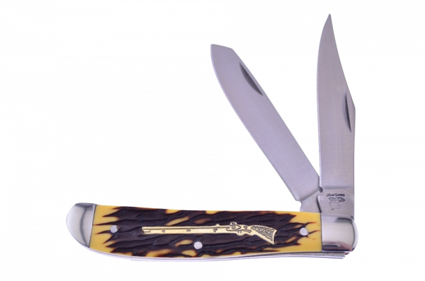 Frost Cutlery Script Collection Imitation Stag Trapper 18-243IS