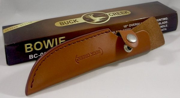 Buck Creek Black Pakkawood Hardwood Hunting Skinner BC-009BPW