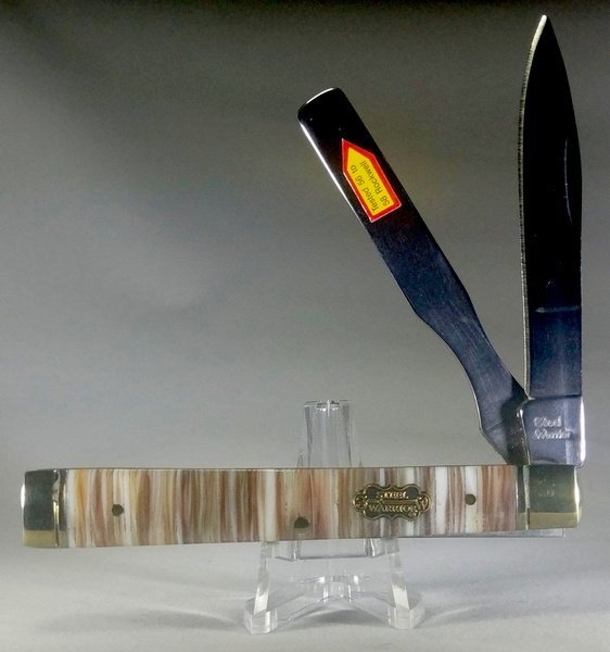 Steel Warrior Genuine Mother of Pearl and Oyster Shell Bar Doctor's Knife SW-120PT