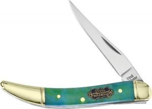 Steel Warrior Jade Aqua Resin Little Texas Toothpick SW-109CW