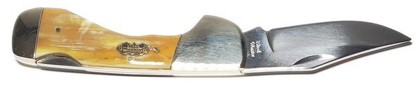 Steel Warrior Genuine Ox Horn Choctaw Lockback SW-105OX