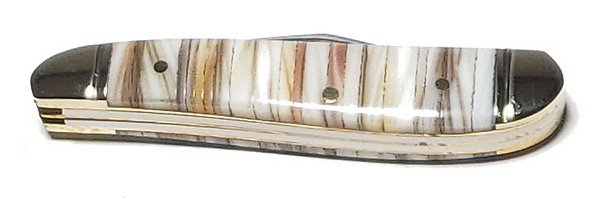 Steel Warrior Genuine Mother of Pearl and Oyster Shell Bar Peanut SW-107PT