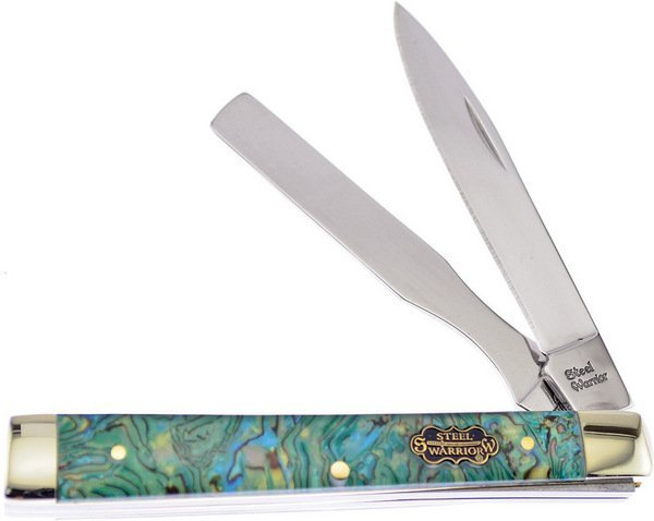 Steel Warrior Genuine Abalone Doctors Knife SW-120AB