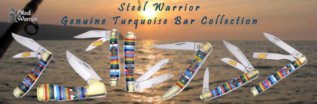Steel Warrior Turquoise Bar Collection