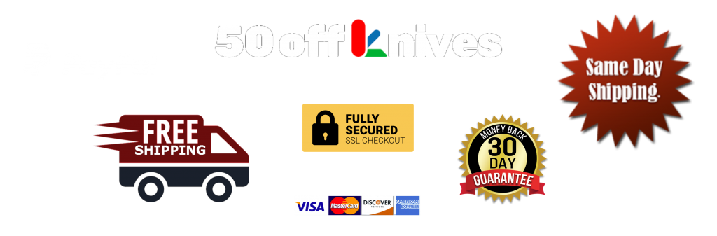 Benefits of Shopping with 50offKnives.com