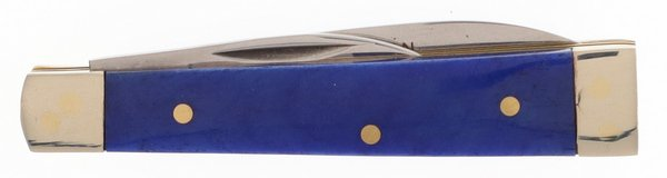 Frost Cutlery Smooth Blue Genuine Bone Baby Doctors Knife 14-974BLSB