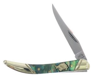 Bulldog Brand Genuine Abalone Little Texas Toothpick BDG-109AB