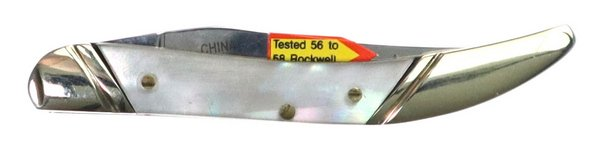 Bulldog Brand Genuine Mother of Pearl Little Texas Toothpick BDG-109MOP