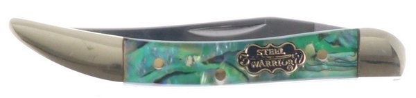 Steel Warrior Genuine Abalone Little Texas Toothpick SW-109AB