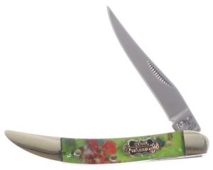 Steel Warrior Sparkle Resin Composite Little Texas Toothpick SW-109RDN