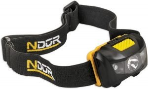 NDūR LED Headlamp - 105 Lumens - 157 Ft Light Range - IPX-4 Water-Resistant 51900