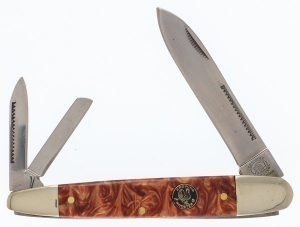 Crowing Rooster Whiskey River Swirl Resin Tapered Cigar Whittler CR-518WR