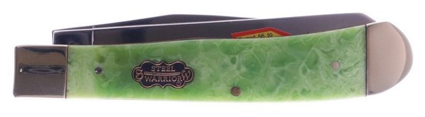 Uncle Lucky Collection by Steel Warrior Green Swirl Resin Big Game Trapper ULSW-108G