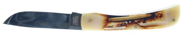 Whitetail Cutlery Torched Second Cut Genuine Bone Dirt Buster Jr WT-084SC