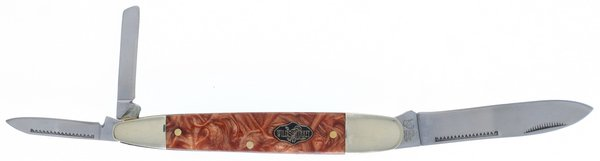 Wild Turkey Cutlery Whiskey River Swirl Resin Tapered Cigar Whittler WTC-518WR