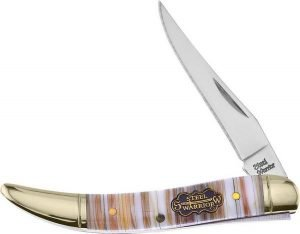 Steel Warrior Genuine Mother of Pearl and Oyster Shell Bar Little Texas Toothpick SW-109PT